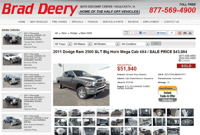 2011 Dodge Ram 2500 Real Dealer Prices Free