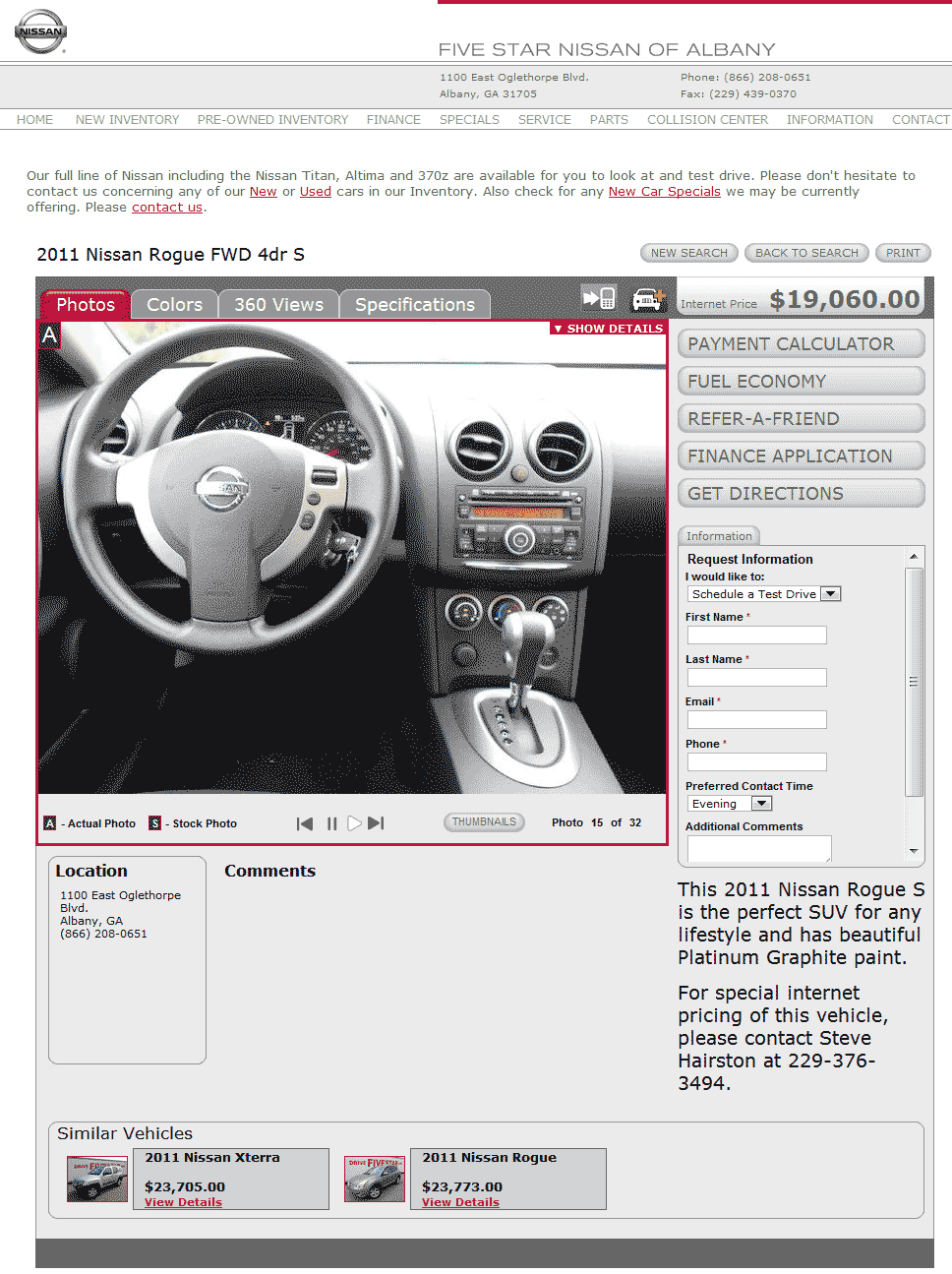 Five Star Nissan Albany, GA View Dealer Ad