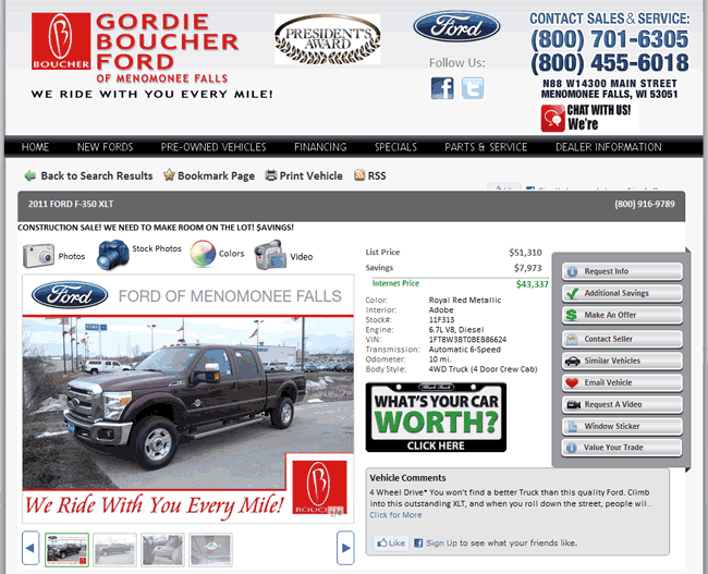 2011 Ford F 350 Real Dealer Prices Free Costhelper Com