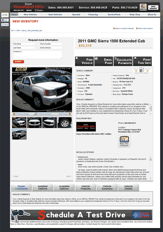 2011 GMC Sierra 1500 Real Dealer Prices - Free ...