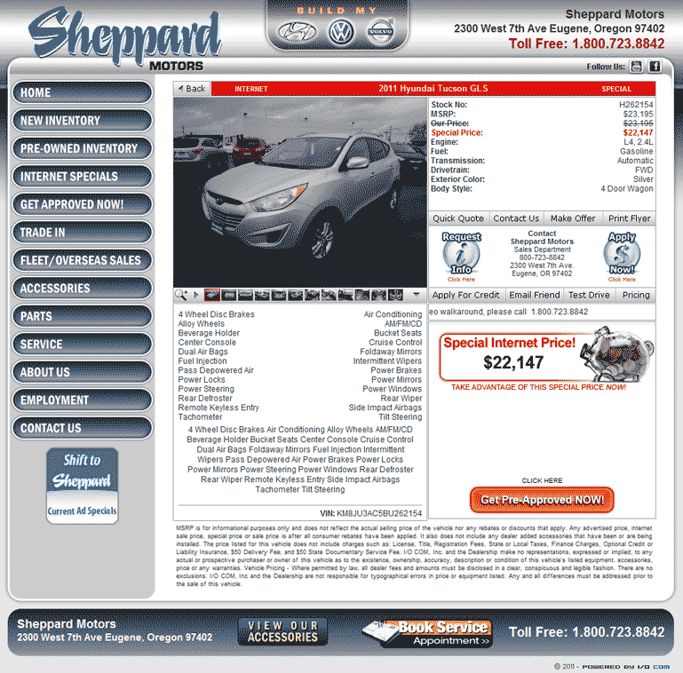 Sheppard Motors Eugene Oregon: Impremedia.net