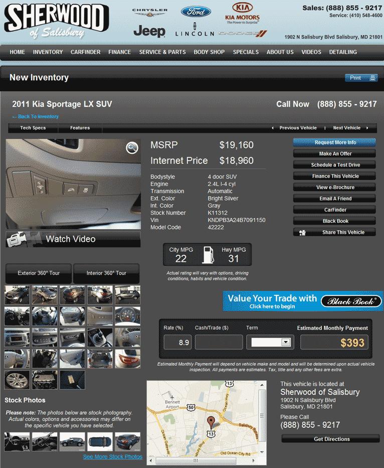 Value Kia Philadelphia >> 2011 Kia Sportage Real Dealer Prices - Free - CostHelper.com