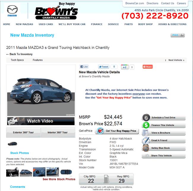 Medina Auto Mall >> 2011 Mazda 3 Real Dealer Prices - Free - CostHelper.com