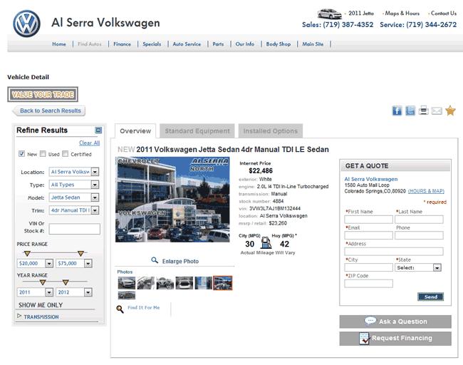 volkswagen jetta real dealer prices  costhelpercom
