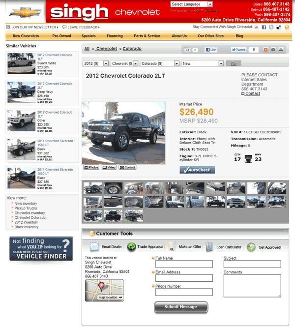 2012 Chevrolet Colorado Real Dealer Prices Free