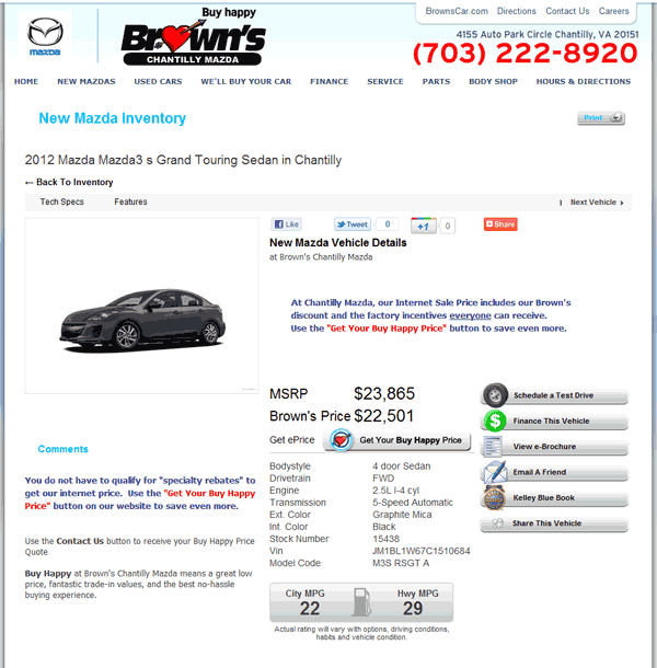 2012 Mazda 3 Real Dealer Prices - Free - CostHelper com