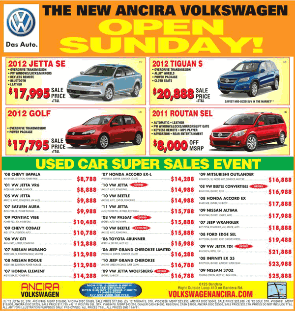 Volkswagen Florida Dealerships: 2012 Volkswagen Jetta Real Dealer Prices