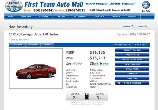 volkswagen jetta real dealer prices  costhelpercom