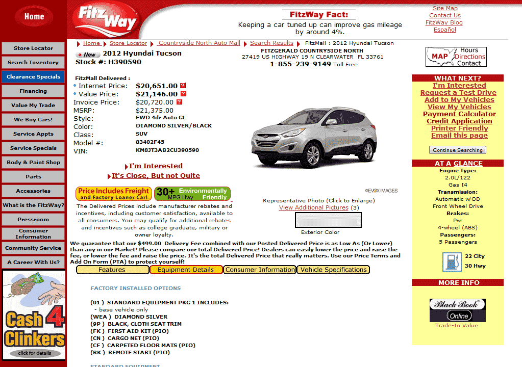 Murdock Hyundai Lindon >> 2012 Hyundai Tucson Real Dealer Prices - Free - CostHelper.com