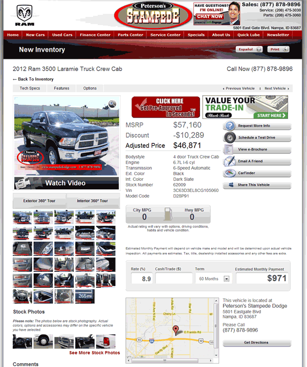 2012 Dodge Ram 3500 Real Dealer Prices Free Costhelper Com
