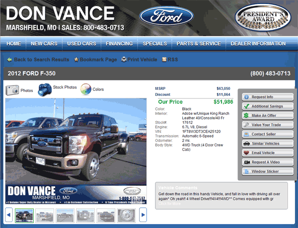 2012 Ford F 350 Real Dealer Prices Free