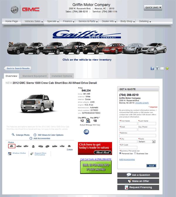 2012 Gmc Sierra 1500 Real Dealer Prices Free