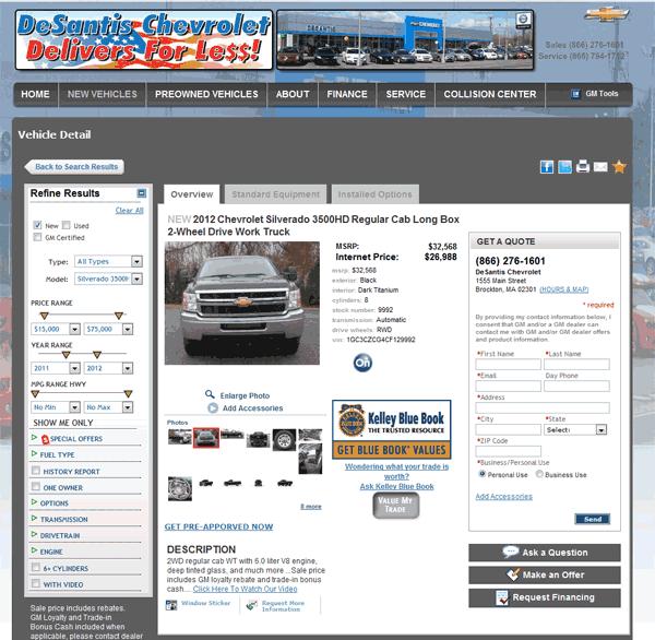 2012 Chevrolet Silverado 3500 Real Dealer Prices Free