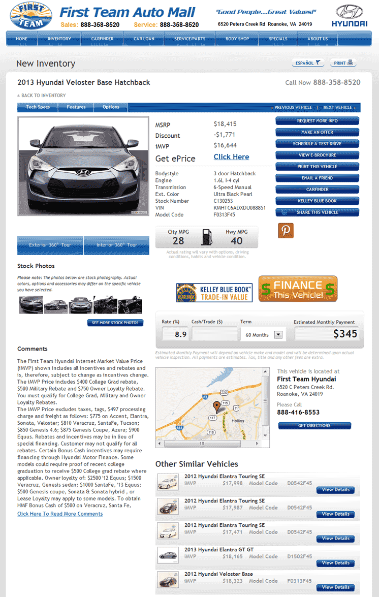 2013 Hyundai Veloster Real Dealer Prices - Free ...