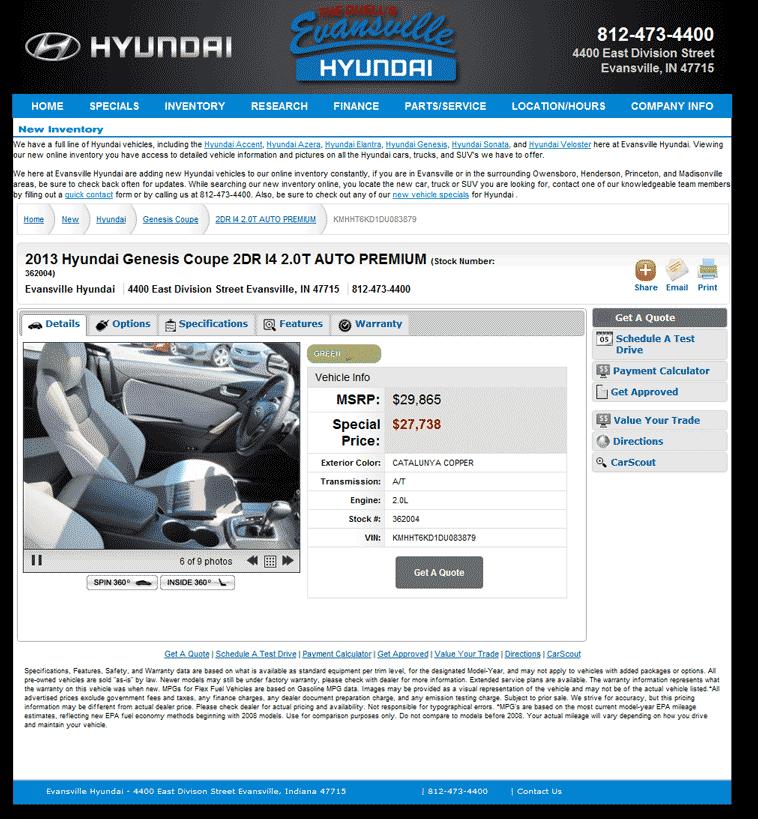 2013 Hyundai Genesis Coupe Real Dealer Prices - Free ...