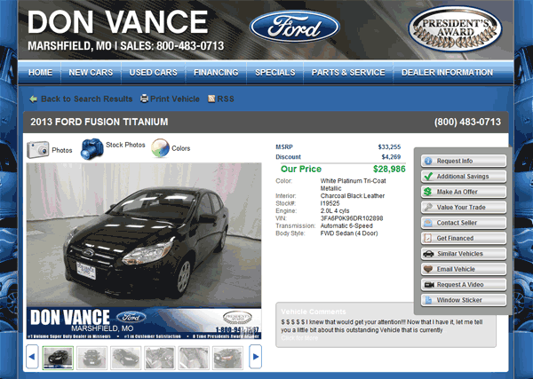 2013 ford fusion real dealer prices free. Black Bedroom Furniture Sets. Home Design Ideas