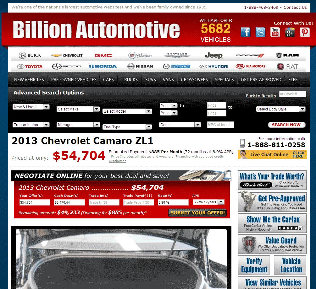 2013 Chevrolet Camaro Real Dealer Prices Free