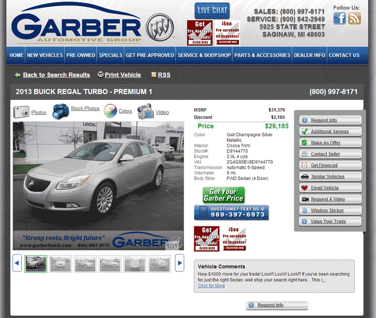 Houston Buick Dealers: 2013 Buick Regal Real Dealer Prices