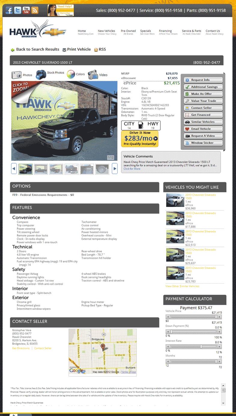 2013 Chevrolet Silverado 1500 Real Dealer Prices Free