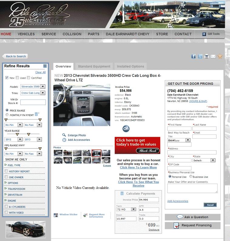 Cable Dahmer Chevrolet >> 2013 Chevrolet Silverado 3500 Real Dealer Prices - Free - CostHelper.com