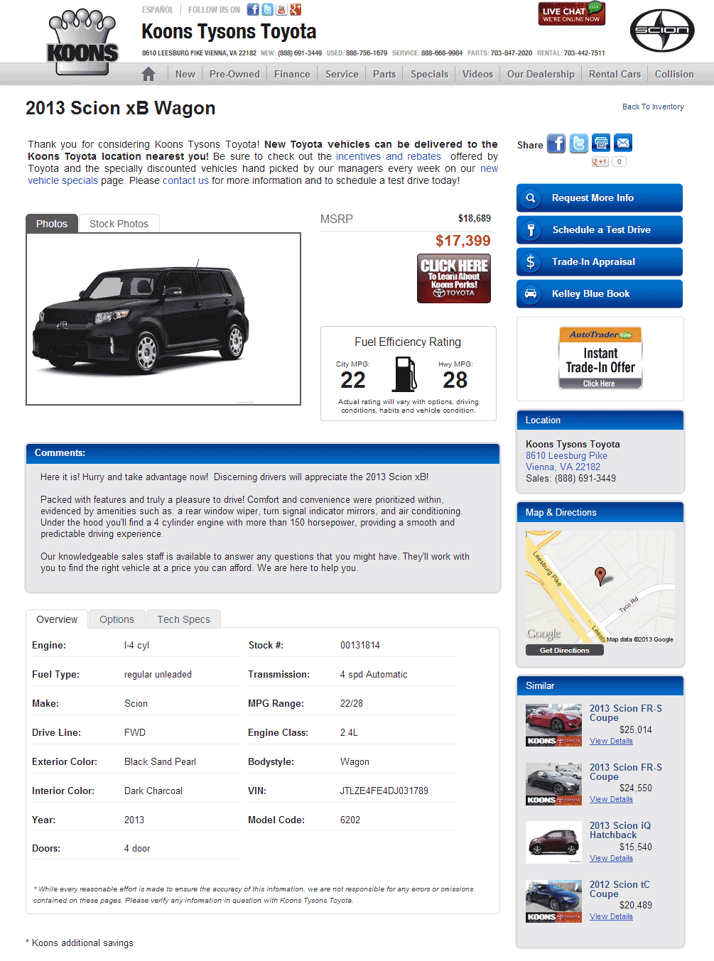 2013 Scion Xb Real Dealer Prices Free Costhelper Com