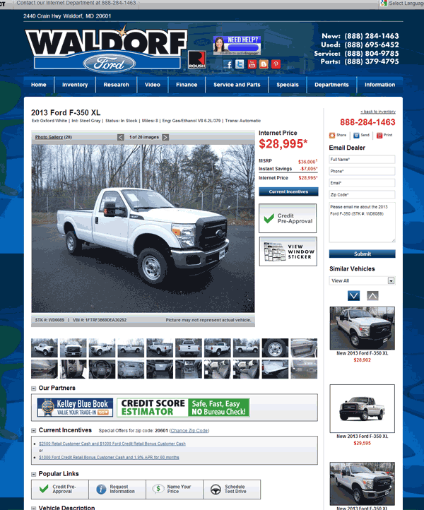 2013 Ford F-350 Real Dealer Prices