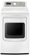 the samsung is an extralarge electric dryer that should provide both sufficient capacity and cycle choices to handle the laundry needs of